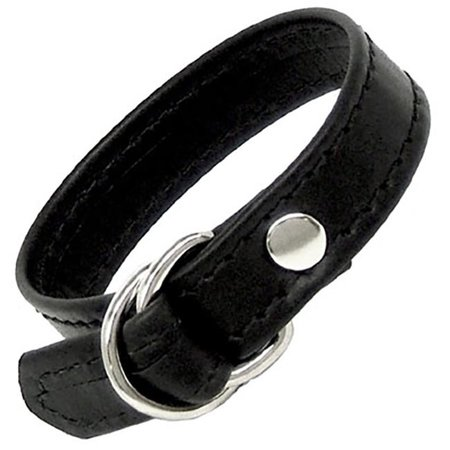 Leather Sliding Buckle Cock Ring