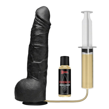 Kink Drencher Silicone Squirting Cock