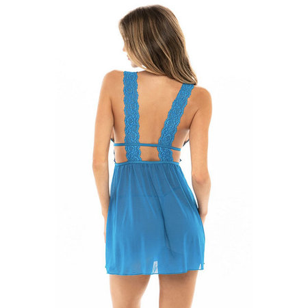 Nora Empire Babydoll 75-10789, Mykonos Blue