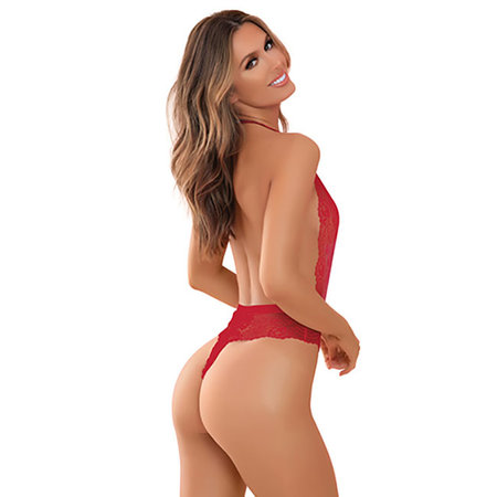 Plunge in Teddy 50014, Red