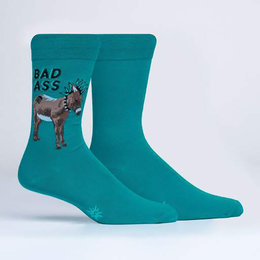 A Real Bad Ass Crew Socks