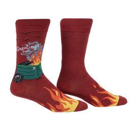 Dumpster Fire Crew Socks