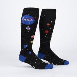 Stretch It Solar System Wide Calf Knee Socks