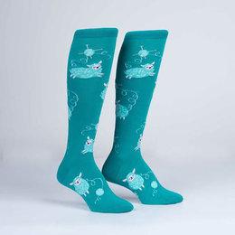 Wool Ewe Be Mine Knee Socks