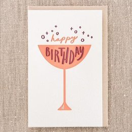Pike Street Press Happy Birthday Cup Greeting Card