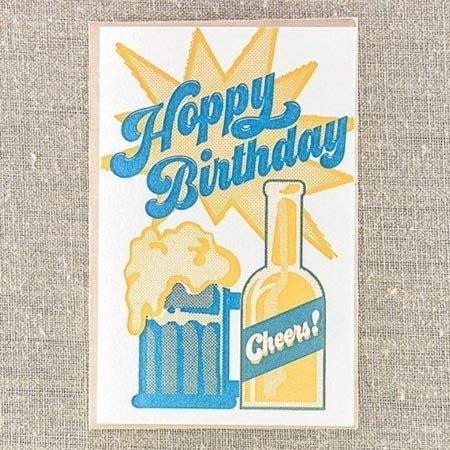 Hoppy Birthday Greeting Card