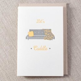 Pike Street Press Cuddle Couch Greeting Card