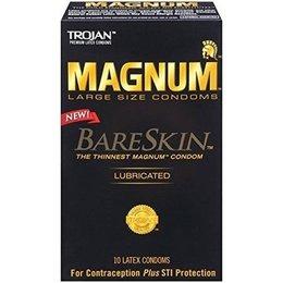 Trojan Magnum Bareskin Condoms 10-pack