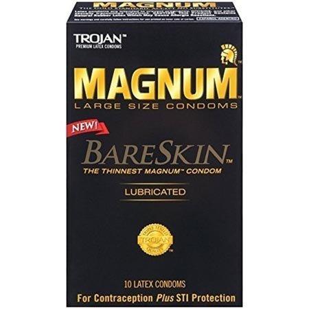 Trojan Trojan Magnum Bareskin Condoms 10-pack