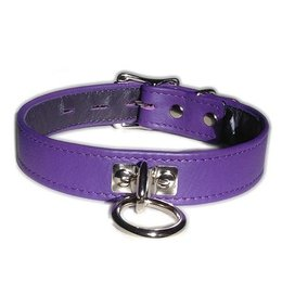 Locking Buckle Collar with O-Ring, Purple