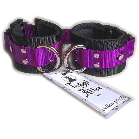 Twilight Attire Twilight Cuffs, Purple