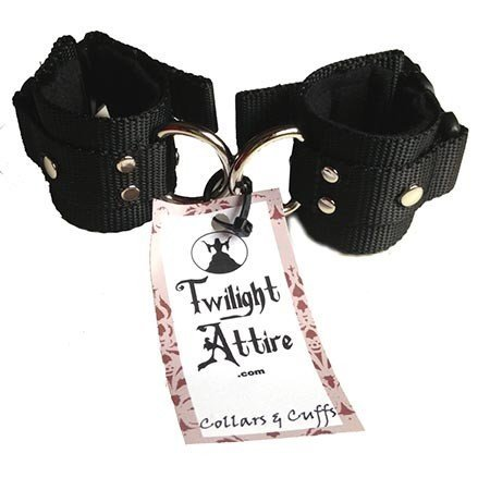 Twilight Attire Twilight Cuffs, Black