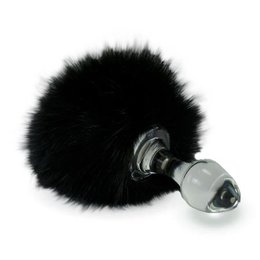 Crystal Delights Crystal Minx Magnetic Bunny Tail Plug