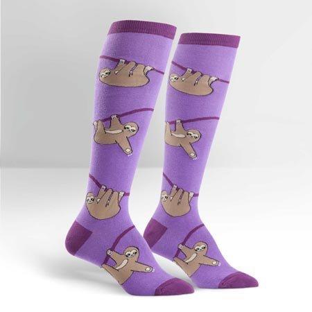 Sock It To Me Sloths Knee Socks