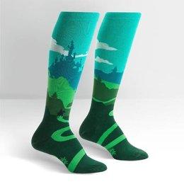 Sock It To Me Yonder Castle Knee Socks
