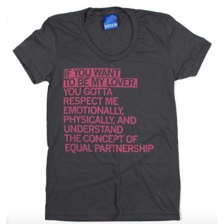 If You Wanna Be My Lover T-Shirt Fitted Hourglass Cut