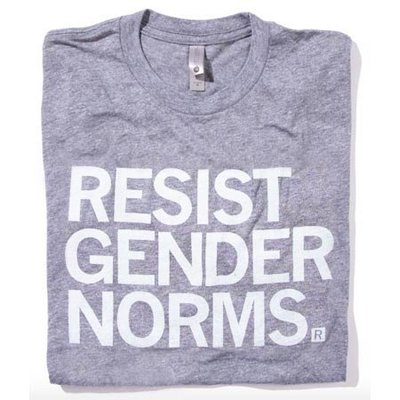 Resist Gender Norms T-Shirt Fitted Hourglass Cut
