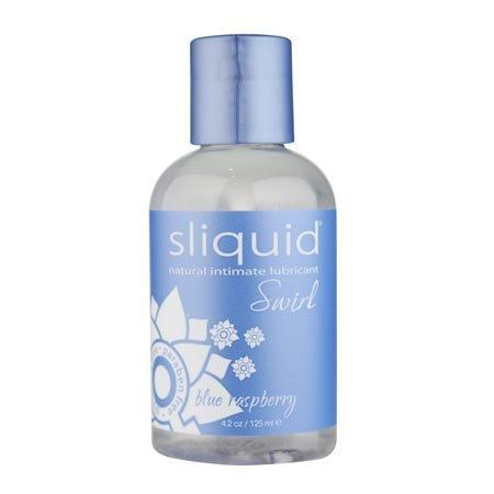 Sliquid Sliquid Swirl Flavored, Blue Raspberry
