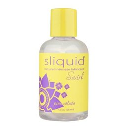 Sliquid Swirl Flavored, Pina Colada 4.2 oz.