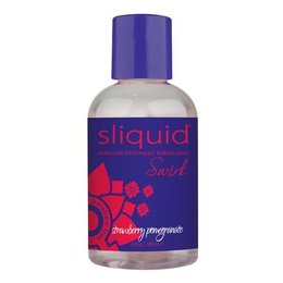 Sliquid Swirl Flavored, Strawberry Pomegranate 4.2 oz.