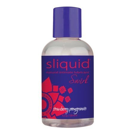 Sliquid Swirl Flavored, Strawberry Pomegranate 4.2 oz.