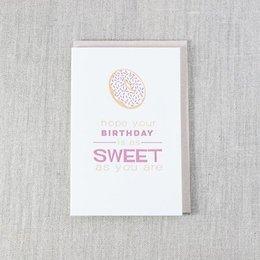 Pike Street Press Birthday As Sweet As You Greeting Card