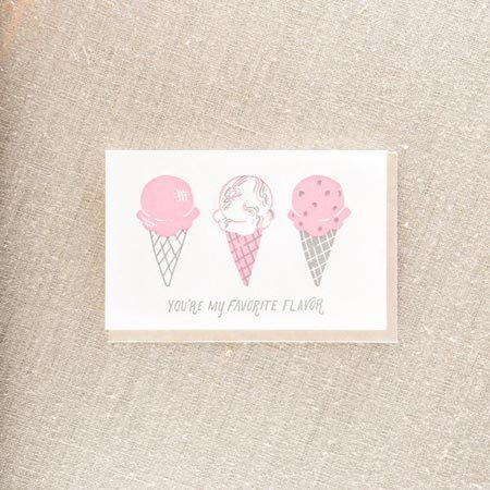 Favorite Flavor Greeting Card