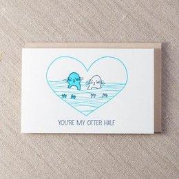 Pike Street Press My Otter Half Greeting Card