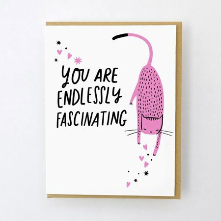 HelloLucky Endlessly Fascinating Greeting Card