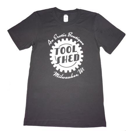 Tool Shed T-Shirt Classic Cut, Asphalt