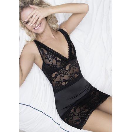 Oh La La Cheri Yvette Babydoll 70-10595, Black