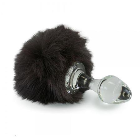 Crystal Minx Magnetic Bunny Tail Plug