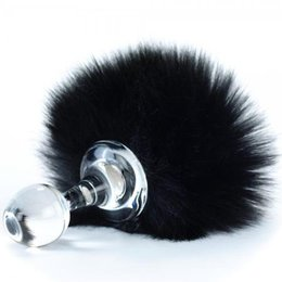 Crystal Delights Crystal Delights Magnetic Faux Fur Bunny Tail