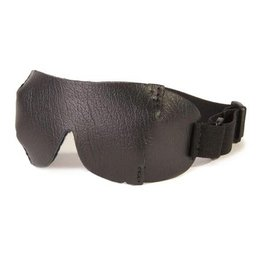 Leatherbeaten Blind Jockey Leather Blindfold