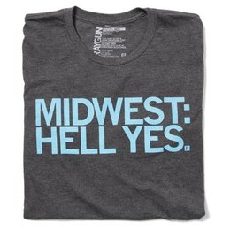 Raygun Midwest Hell Yes T-shirt Classic Cut