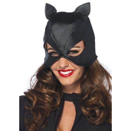 Bondage Cat Mask with Lace Up Back 2625