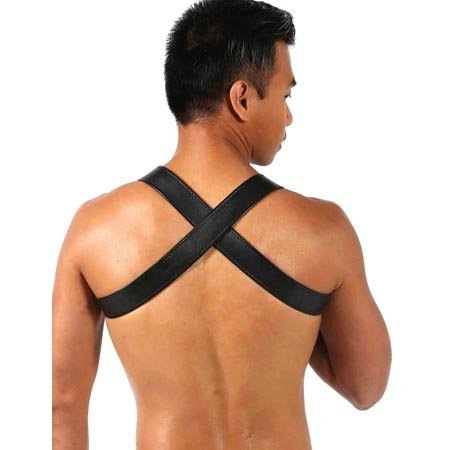 One Man Armada XXXmen Chest Harness, Black