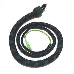 Katana Works Katana Works 4 foot Paracord Whip, Black/Green