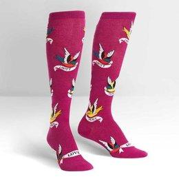 Sock It To Me Something to Tweet About Knee Socks
