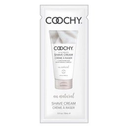 Coochy Shave Cream, Au Natural Pillow Pack