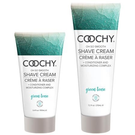 Classic Brands Coochy Shave Cream, Green Tease