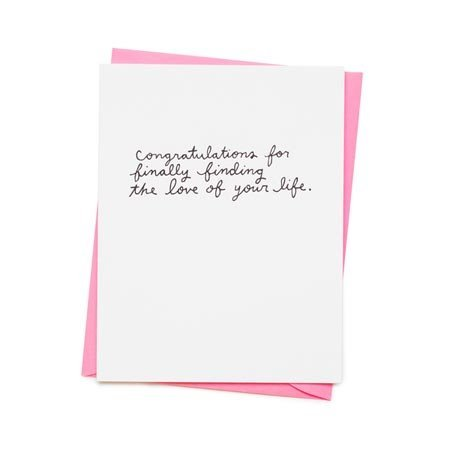 Love of Your Life Greeting Card