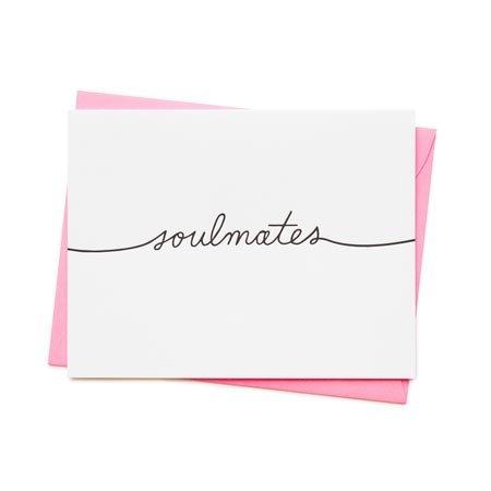 Ashkahn Soulmates Greeting Card