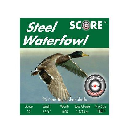 Prairie Shot 12 g 2 3/4 11/16 oz #2 steel 1400 fps case