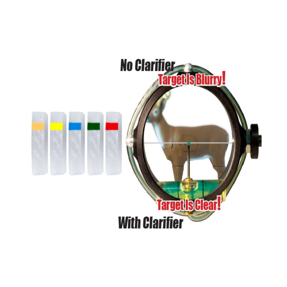 Specialty 1.0 Podium Peep Clarifier Lens Yellow