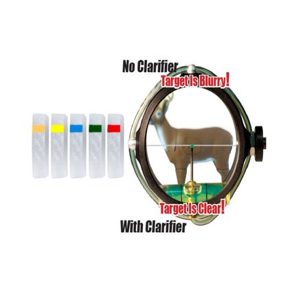 Specialty .5 Podium Peep Clarifier lens gold