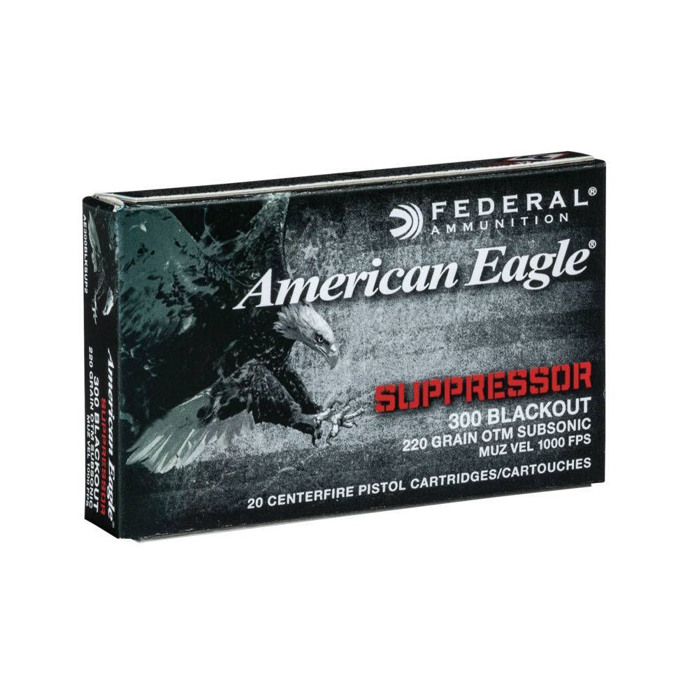 American Eagle AE300 Blk Out 1000 fps 20 ct.