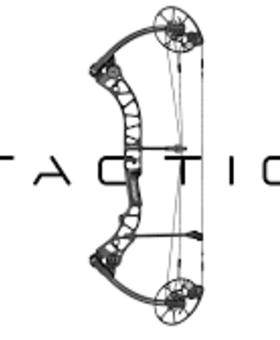 Mathews Tactic Left Hand Black 50#
