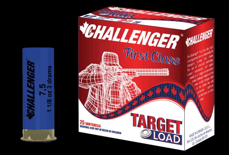 Challenger 12 ga 23/4 1 1/8 1200fps 100 rounds