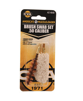 CVA Brush/Swab set 50 cal